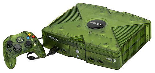 Debugging on video game consoles is usually done with special hardware such as this Xbox debug unit intended for developers. Xbox-Debug-Console-Set.jpg
