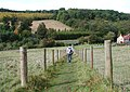 Yorkshire Wolds Way, Brantingham - geograph.org.uk - 570940.jpg