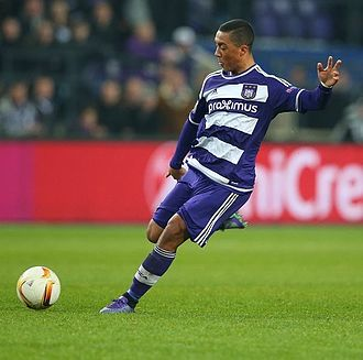 Youri Tielemans - Tielemans playing for Anderlecht in 2016
