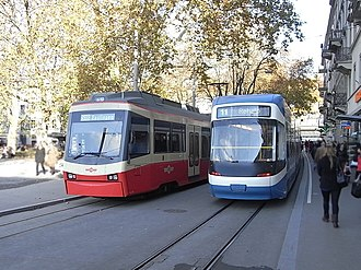 Forch railway - Image: Zürich, Stadelhofen