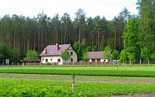 Zarośle, Gmina Zbiczno Village in Kuyavian-Pomeranian, Poland