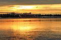 Zachód słońca na nabrzeżu Angary w Irkucku 03.JPG