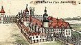 Zamek w Brzegu - F. B. Werner, Topographia oder Prodromus Delineati Principatus Lignicensis Bregensis, et Wolaviensis.jpg
