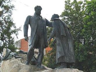 János Fadrusz - Image: Zilah szobor