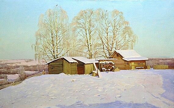 Zima by Nikolay Anokhin
