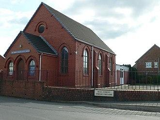 Pen-y-cae, Wrexham - Image: Zion English Baptist Church, Penycae geograph.org.uk 729952