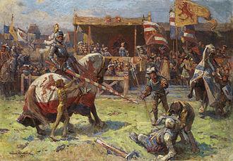Zygmunt Ajdukiewicz - Image: Zygmunt Ajdukiewicz Ritterturnier 1912