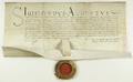 Zygmunt II August król polski potwierdza nadane władzom miasta Poznania.png