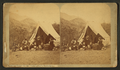 """Camping out,"" at Manitou Springs, by Thurlow, J., 1831-1878.png"