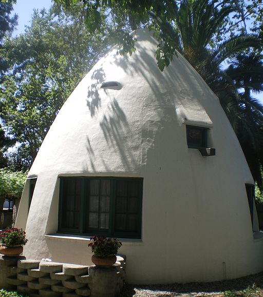 """Igloo"" at Temple Mansion, City of Industry"