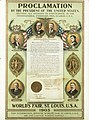 """Proclamation by the President of the United States Inviting all Nations to Participate in the International Exhibition, 1903. St. Louis, U.S.A."" (1904 World's Fair).jpg"