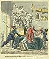 'Наполеон продает с молотка похищенные им антики' рис.Теребенев Иван И. 1813г. e1.jpg