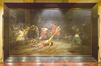 Spoliarium - Spoliarium as displayed in the National Museum of the Philippines