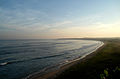 (Bay of Bengal) Beach View from Tenneti Park 02.JPG