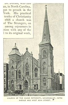 (King1893NYC) pg393 CHURCH OF THE DIVINE PATERNITY, UNIVERSALIST, FIFTH AVENUE AND WEST 45TH STREET.jpg