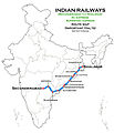 (Secunderabad - Shalimar) AC Express and Super fast Express Route map.jpg