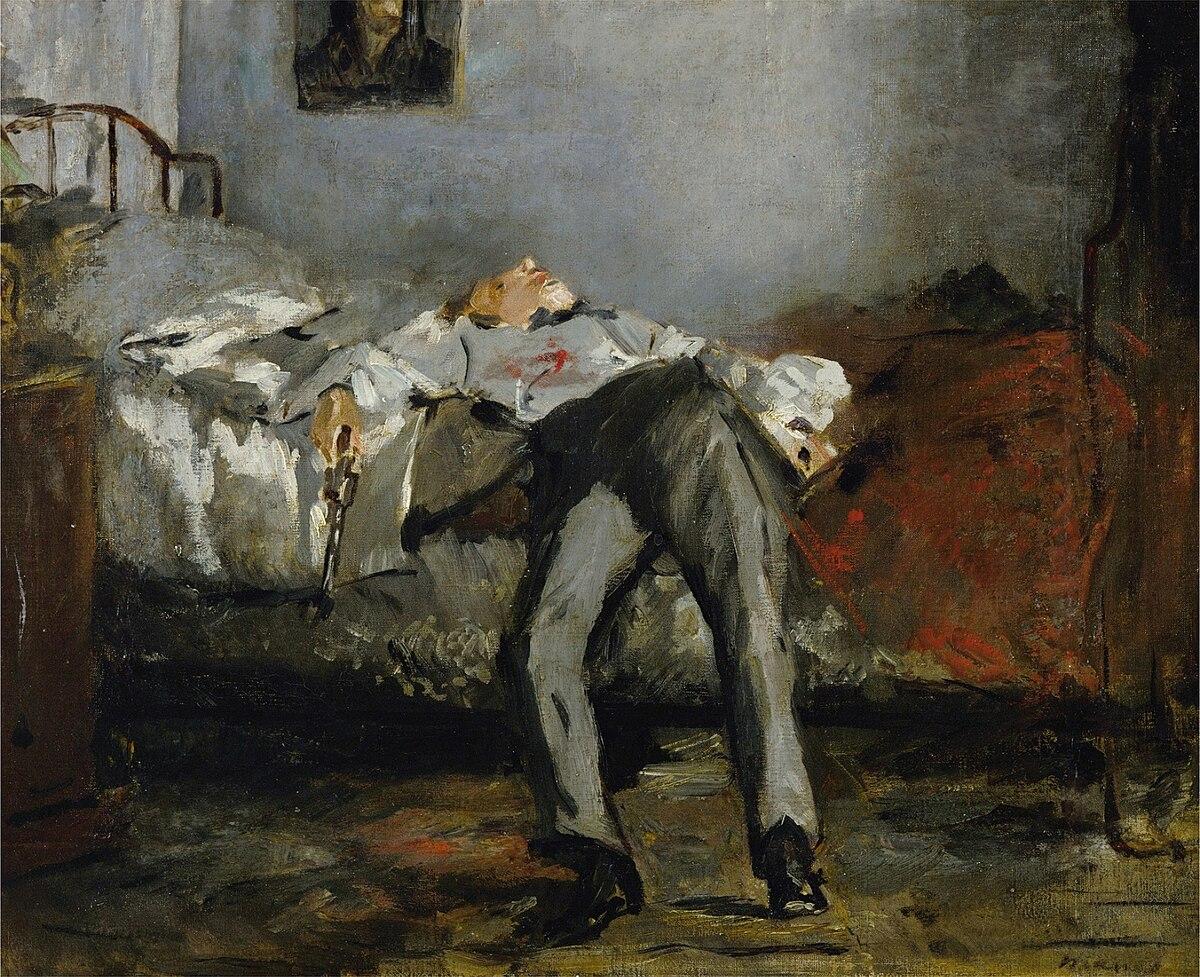 Der Selbstmörder (Manet) – Wikipedia