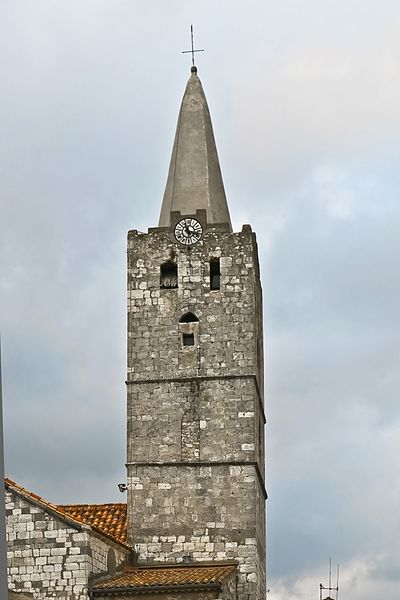 St-Martin church tower, Cuxac-d'Aude, France