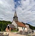 Église Saint-Paul de Courtonne-les-Deux-Églises. Vue sud-ouest.jpg