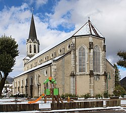 Église St Jean Baptiste Châtillon Michaille Valserhône 6.jpg