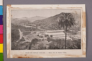 État de Minas Geraes. - Mines D'Or de Morro Velho