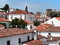 Óbidos - Telhados e muralhas 2.JPG