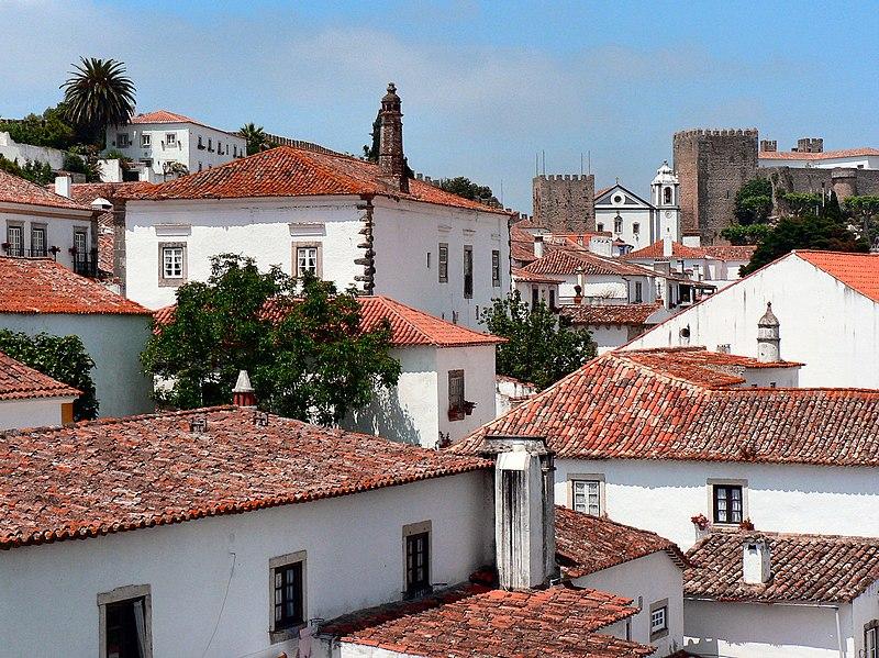 Image:Óbidos - Telhados e muralhas 2.JPG
