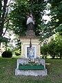 Łańcut palace - statue of saint Jan Nepomucen.jpg