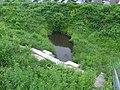 Šmerļupīte under railway line.jpg