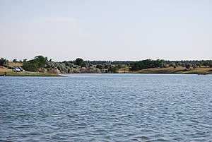 Great Stavropol Canal - Great Stavropol Canal in the town of Gornii