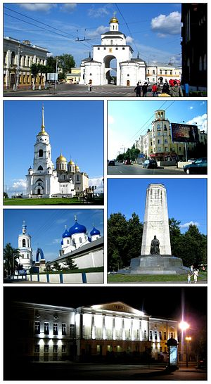 Vladimir, Russia - Views of Vladimir