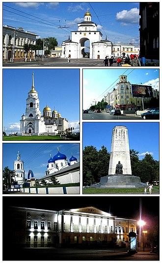 Vladimir, Russia - Views of Vladimir