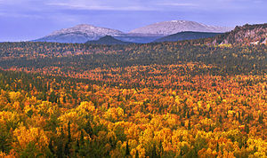 South Ural Nature Reserve - Mt. Yamantau, highest point in South Ural Mountains