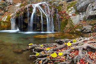 A haphali vízesés (Krím félsziget)
