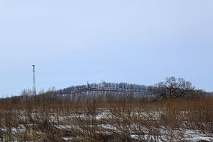 Battle of Volochayevka - The hill on which the battle took place.