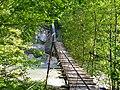 Сочинский национальный парк. Подвесной мост через реку Бекишей к водопаду Шапсуг 1.jpg