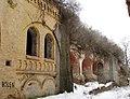 Тараканівський форт, мур з казематами.jpg
