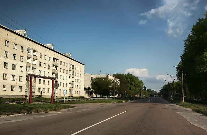 Ficheiro:Улица Кирова, Чернобыль.jpg