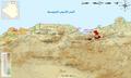 خريطة توزيع كاسر الجوز القبائلي في الجزائر.png