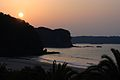 入田浜の日の出, Sunrise in Irita Beach - panoramio.jpg