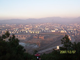 Zhaotong - Image: 凤凰山上看昭通 panoramio