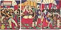 勲功之将天杯賜之図-Illustration of the Honored Commanders, Receiving the Emperor's Gift Cup (Kunkō no shō tenpai o tamau no zu) MET DP146896.jpg