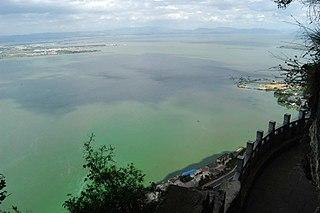 Dian Lake lake in Yunnan, China