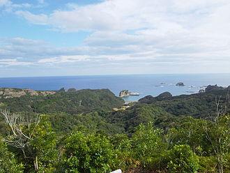 Tanegashima - In the vicinity of Inu Castle Coast, Daikoya District