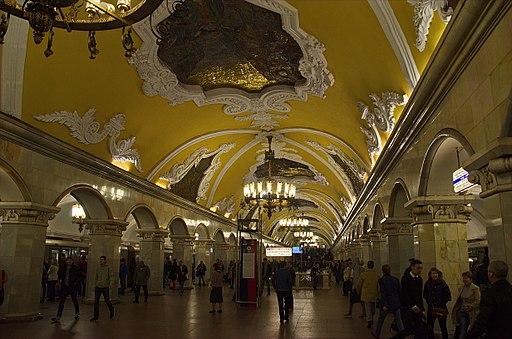 0001 - Moskau 2015 - Metrostation Komsomolskaja (25792675164)