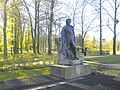 0003. Tsarskoe Selo. Monument to Alexander Pushkin at the entrance to the city.jpg