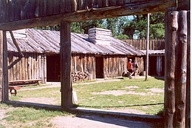 Lewis and clark expedition wikipedia reconstruction of fort mandan lewis and clark memorial park north dakota fandeluxe Gallery