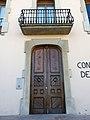 005 Casa Niubò (Mollerussa), façana c. Prat de la Riba.JPG