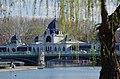 03 2019 photo Paolo Villa - F0197945 - Budapest - Városligeti - laghetto - Bridge over the Városligeti lake - Ponte Zielinski e Palaghiaccio.jpg