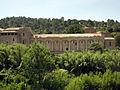 098 Abadia de Santa Maria, façana est, dormitori dels monjos.jpg